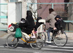 要望が実り、幼児2人乗用自転車...