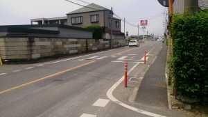 木崎 横断歩道(実現前)