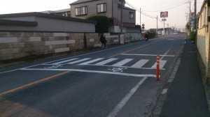 木崎 横断歩道
