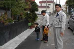 篠田地区の側溝を改修しました。