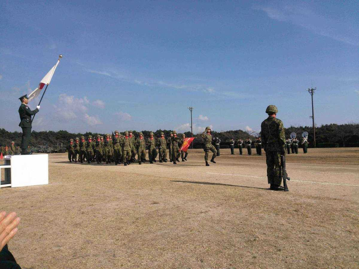 陸上自衛隊別府駐屯地57周年記念...