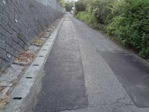 DSC01461扇山ラブホテル道路補修