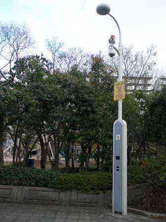 スーパー防犯灯の設置