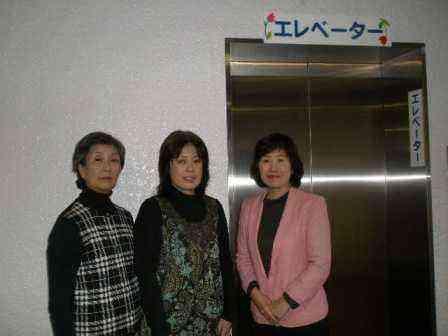 臨海コミュニティ会館へエレベーターを設置しました。