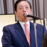 決意を述べる太田議長