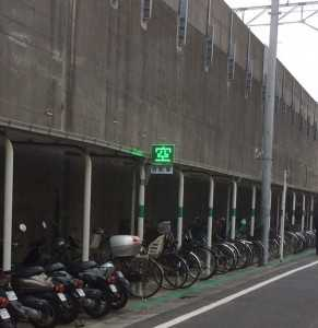 平井駅東駐輪場電光掲示板その3