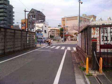 小松川小前ブロック塀改修前