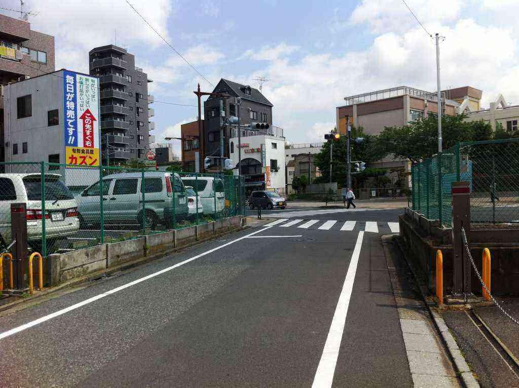 小松川小信号前ブロック塀4