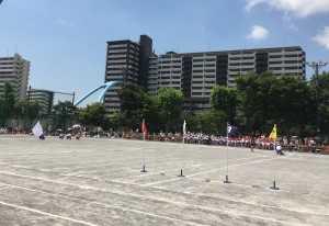 平井南小運動会②