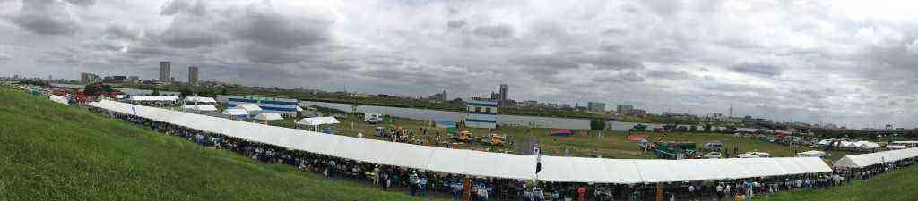 H30年度江戸川区総合防災訓練全景(7月26日)