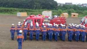 県防災訓練