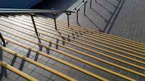 東体育館外階段