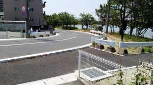 香住ヶ丘7丁目9番地付近の歩道の新設等の安全対策の件②
