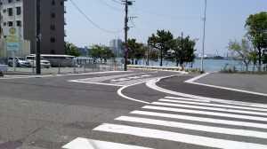 香住ヶ丘7丁目9番地付近の歩道新設等の安全対策