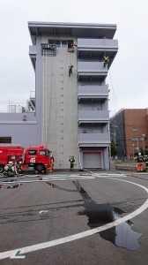 消防訓練展示