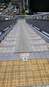 香椎参道歩道橋