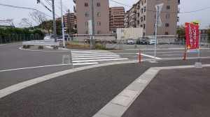 横断歩道(御島崎)