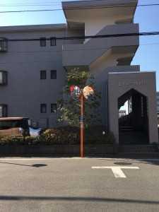 堀之内駅前駐車場北側