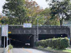 松が谷トンネル