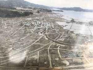 被災後の同市の様子