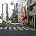 久米川駅付近道路標識設置