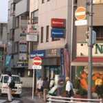 八坂駅付近標識改良