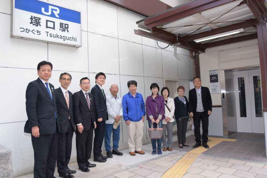 JR塚口駅エレベーター3