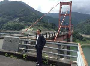20140815 大渡ダム大橋視察-1