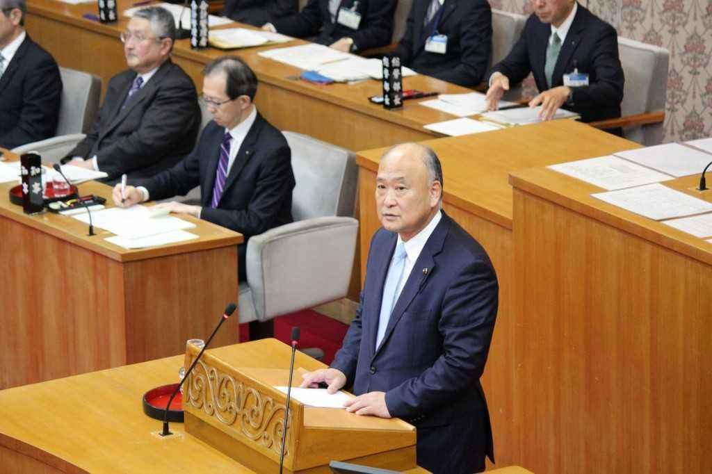 平成31年県議会2月定例会「登壇写真」