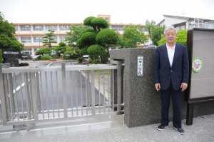 小学校正門の改修2