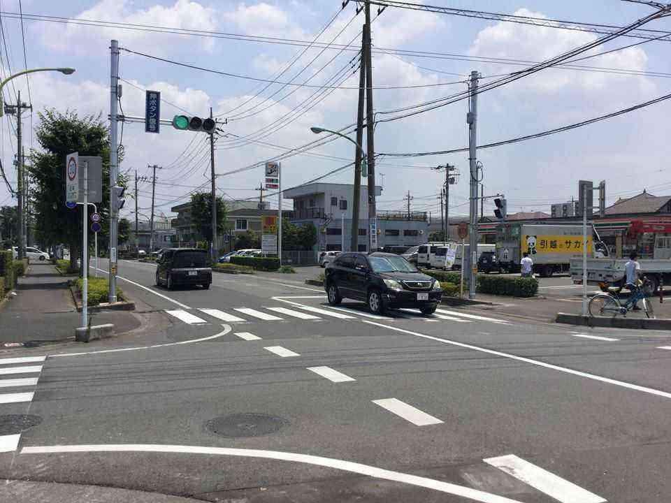 都市計画道路浦和東京線信号設置①170708