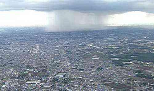ゲリラ豪雨から身を守る対策について