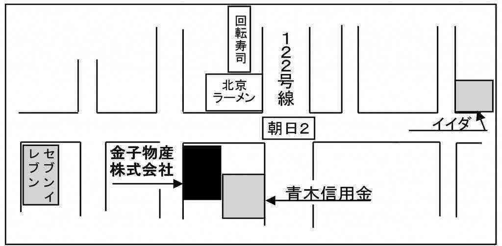 はぎわら一寿選挙事務所_MAP