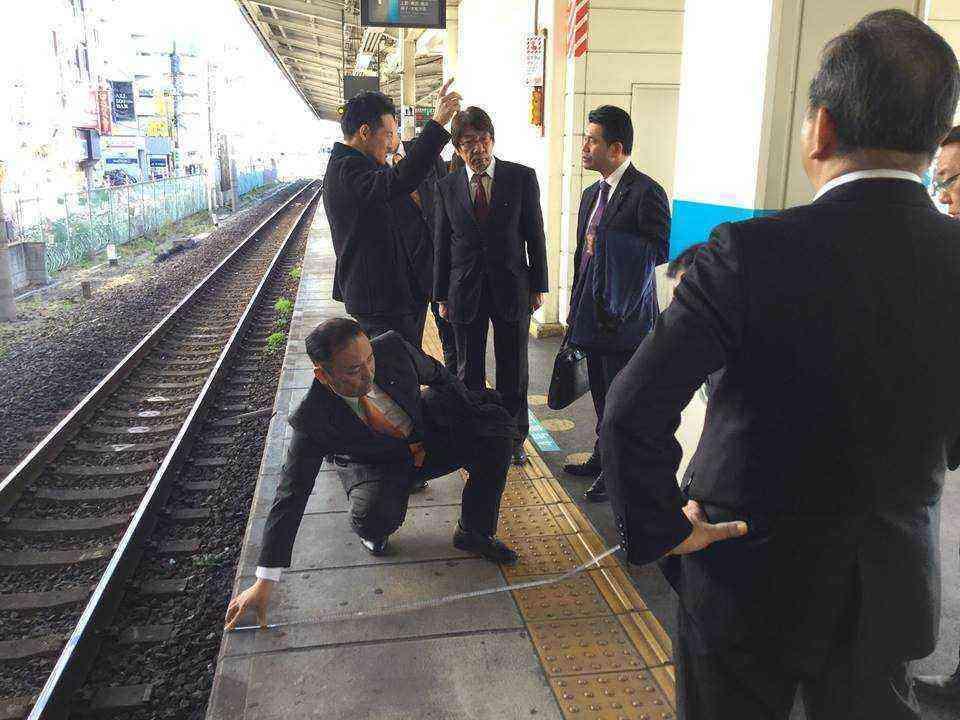 蕨駅視察170131②