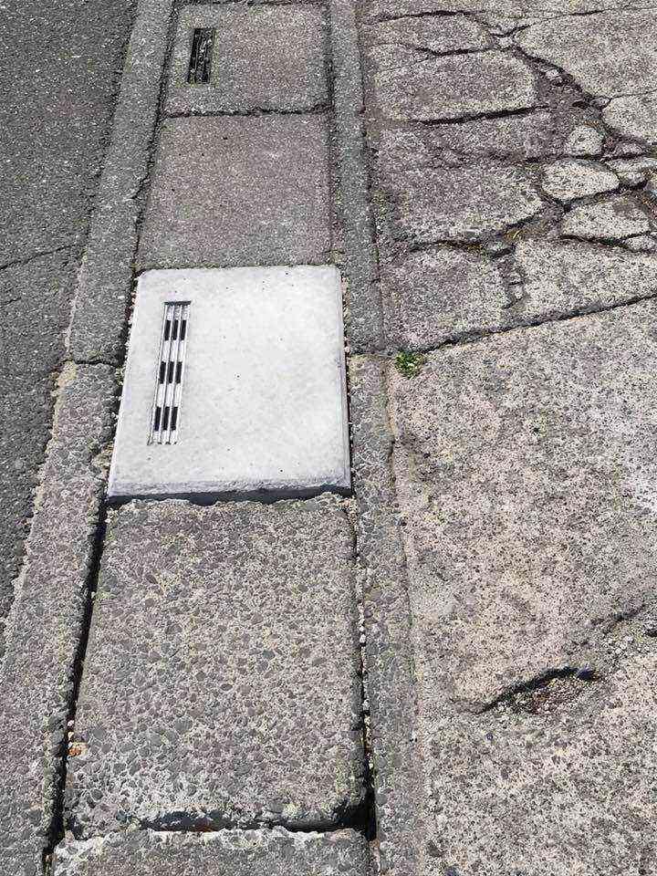 後側溝 江ヶ崎