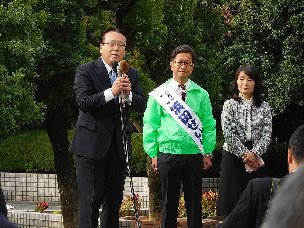 高知県知事選の告示 : ブログ : 高知市議会 山根たかひろホームページ