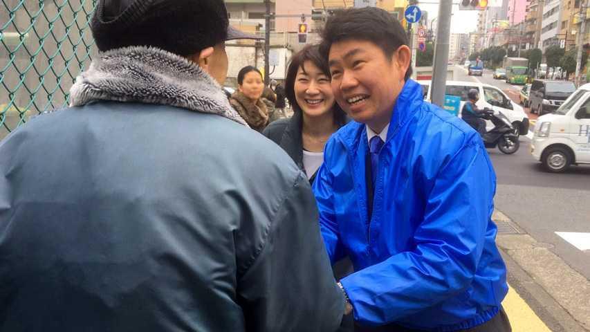 6日 牛込柳町駅