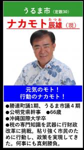 ナカモト辰雄 紹介