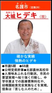 大城ヒデキ 紹介