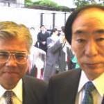 坂口大臣のコンビは忘れ難い経験でした!