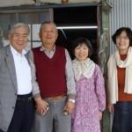 藤井さんご夫妻と私ども夫婦