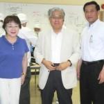 荒川議員さんは、藤本理事長さんに大変にお世話になっているよう!
