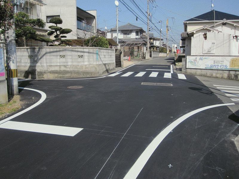【石井454号線】【石井3号線】交差点
