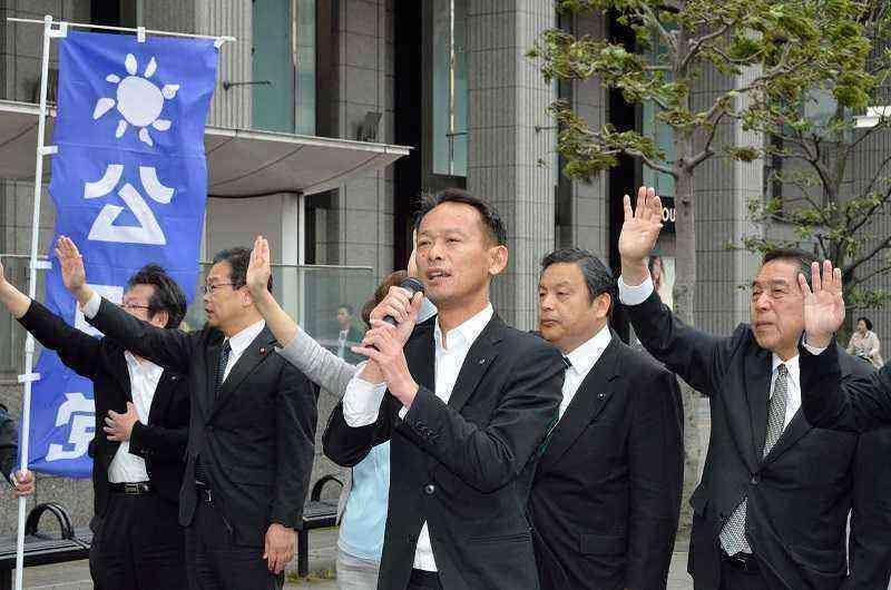 160503憲法記念日街頭遊説