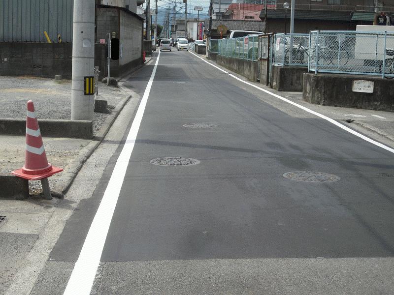 【石井82号線】マンホール凹凸②