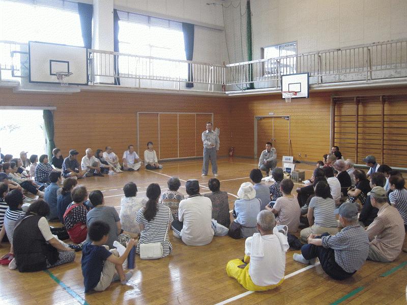 2016地区総合防災訓練③