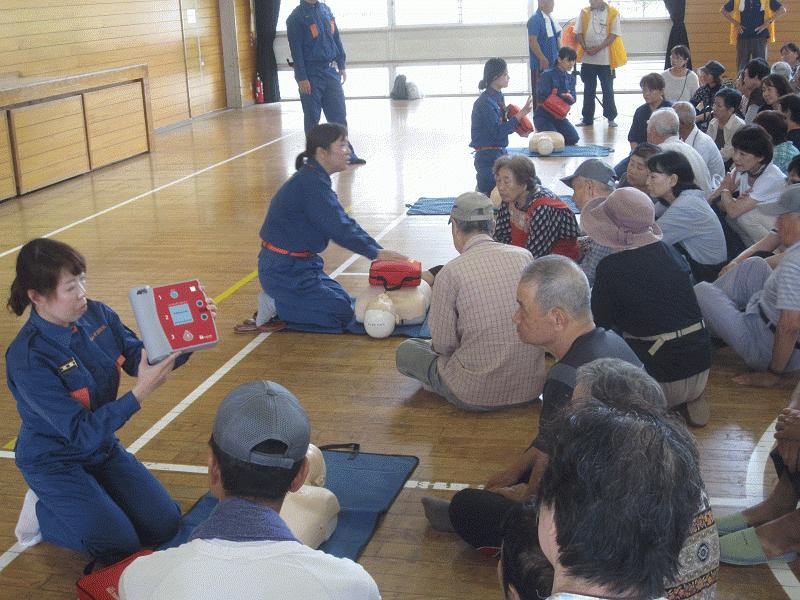 2016地区総合防災訓練④