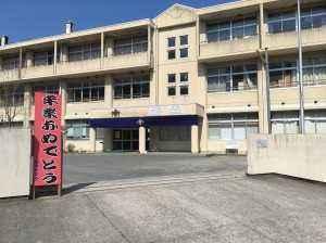 宮津中学校卒業式