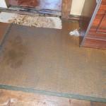 床上浸水後の畳