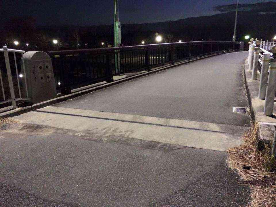 H28年春端橋の段差の解消